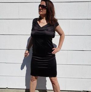 Rena Lange little black dress size 6